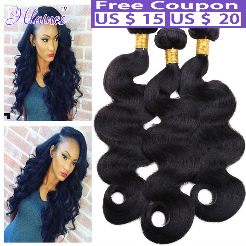 7A Peruvian Virgin Hair Body Wave 3 Bundles Peruvian Body Wave Hair rosa Hair Products Body Wave Human soft Hair Weave Bundles