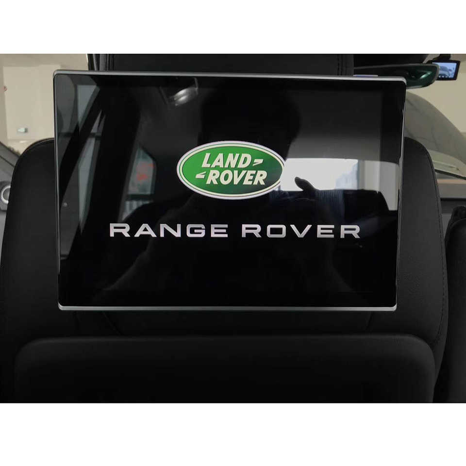 TV In The Car Android Head Rest Monitor For Range Rover L405