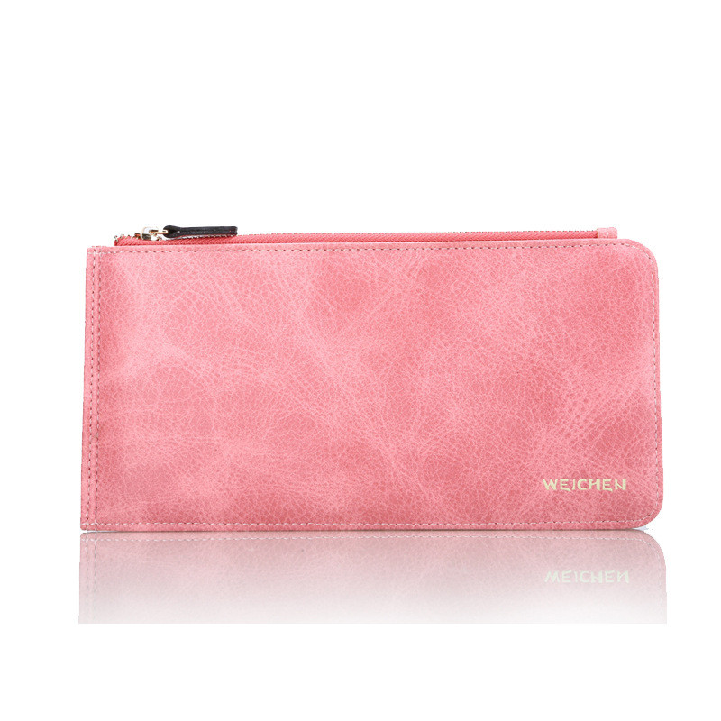 Women Long Wallets Female Clutch Wallet Phone Coin Pocket Ladies Purse Women's Purses PU Leather Zipper&Hasp Bag