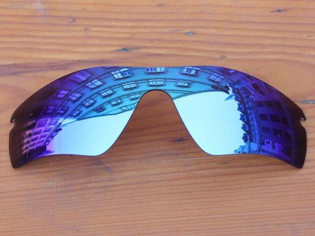 Hielo Azul Espejo Polarizado Lentes De Repuesto Para Marco de la Trayectoria Del Radar de las gafas de Sol 100% protección UVA y Uvb