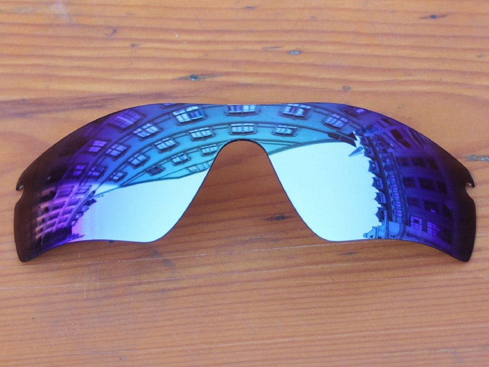 Ice Blue Mirror Polarized Replacement Lenses For Radar Path Sunglasses Frame 100% UVA & UVB Protection