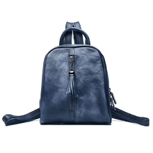 Women Backpack Genuine Leather Daypack Fashion Backpacks Female Mochila Feminine Casual Large Capacity Vintage Shoulder Bags