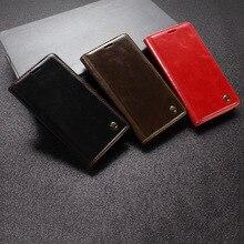 Xiaomi Redmi 4X чехол Роскошные Натуральная кожа флип телефон Сумки Магнитная застежка кошелек крышка блеск кожи мобильного Redmi 4x Чехол