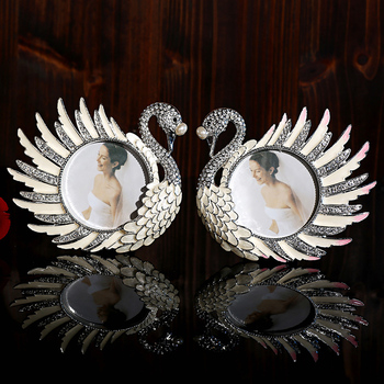 XXXG European crystal ornaments ornaments Swan wedding gift jewelry supplies Home Furnishing small living room decoration