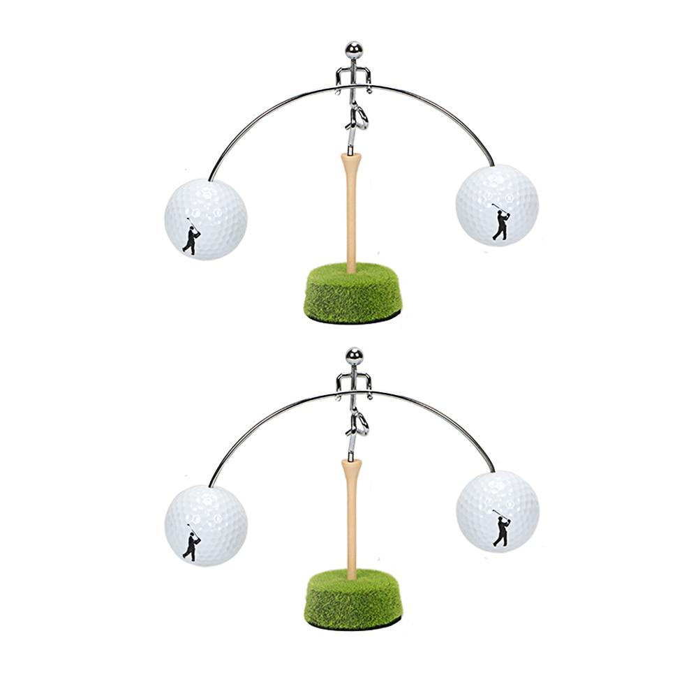 Golf Balance Man Office Table Ornament