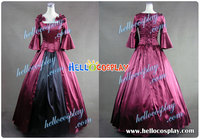 Colonial Lolita Ball Gown Prom Red Wedding Dress H008