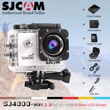 """Original SJCAM SJ4000 WiFi 2.0 """"LCD Impermeable Acción de Buzo 30 M 1080 P Full HD Submarino sj 4000 deporte Buceo DV Camcoder"""