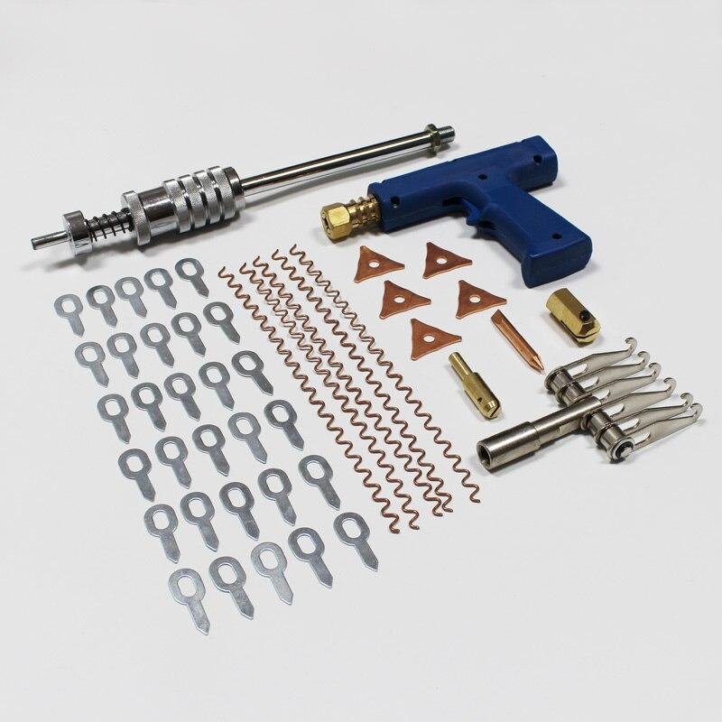 Pacote de peças 9 46 itens sortidas kit de ferramentas de reparo do corpo do carro para spotter dent extrator