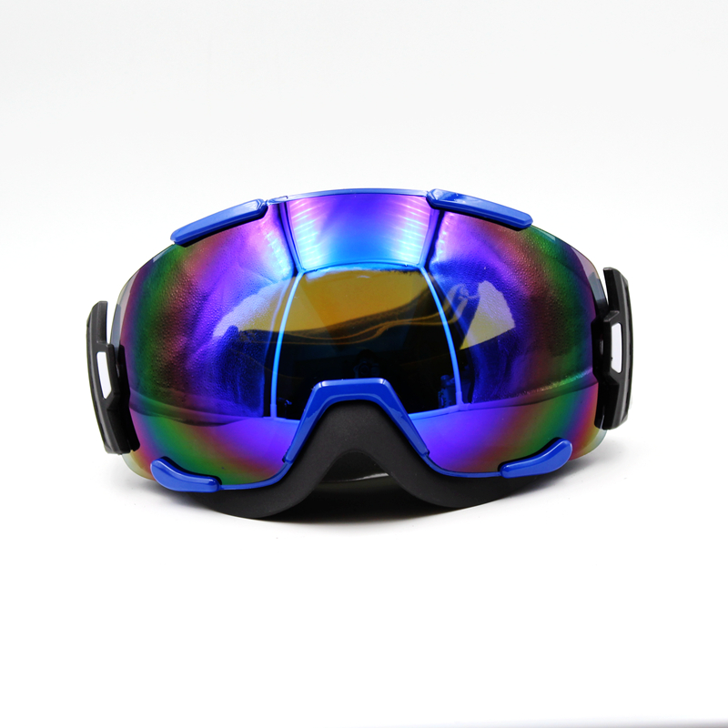 Prix pour Nouveau Design Bleu Lentille Bleu Cadre Marque Nouveau Ski Lunettes Lunettes Masque Lunettes de Ski Hommes Femmes Neige Snowboard Lunettes