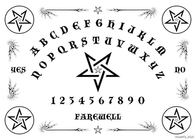 Ouija Board Mouse Pad Fashion Gaming Mousepad Notbook Computer Mouse