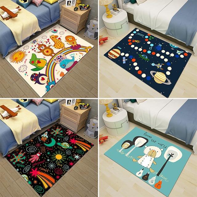 Cartoon Animal Carpet Kids Rug And Carpet For Bedroom Area Rug