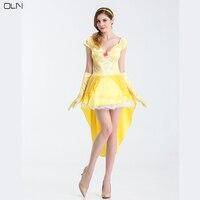 OLN Halloween Woman Makeup Party Dress Princess Dresses Evening Festival Plus Size Christmas Lady Clothes Romantic Dance Dress