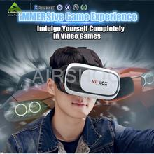 3D VR Virtual Reality Headset 3D Glasses Adjust Cardboard VR BOX For 3.5~6.0″ Smart phones IOS Android Cellphones (Black+White)