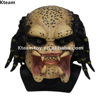 DHL Free Ship Halloween Party Cosplay Novelty Items Predator Mask Costume Overhead Latex Scary Zombie Mask For Carnival Cosplay