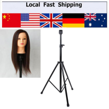 New Tripod Adjustable Manikin Mannequin Head Holder Hairdressing Training Stand