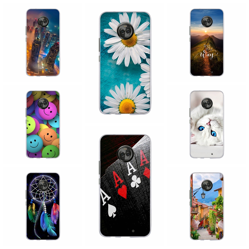 For <font><b>Motorola</b></font> <font><b>Moto</b></font> X4 Silicone Phone Case For <font><b>Motorola</b></font> <font><b>Moto</b></font> <font><b>XT1900</b></font> Back Cover Fashion Coque For <font><b>Moto</b></font> X 2017 4th gen Fundas Bumper image