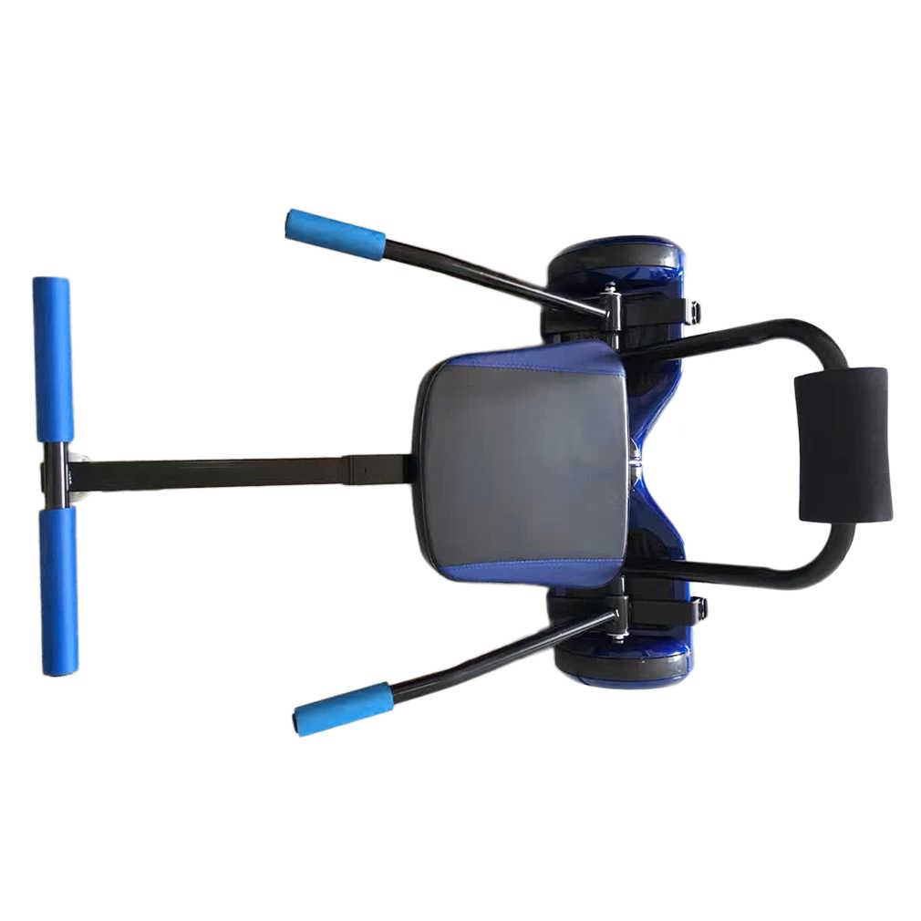 Kreatif Kart Gaya Hoverboard Kart 2 Wheel Listrik Skuter Kart Kursi Smart Balance Hoverboard Pergi Pengangkutan Aksesoris