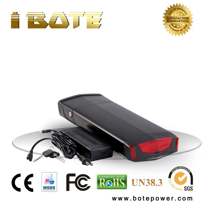 Portapacchi posteriore batteria 36 volt lithium-ion battery pack 36 v 11ah 18650 batteria per la bicicletta elettrica
