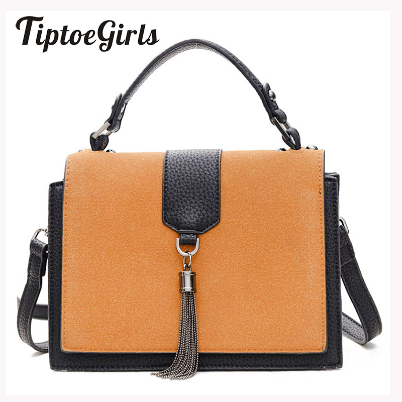 Autumn And Winter Korean Version of The New Fashion Trend Retro Small Bag Tassel Portable Shoulder Messenger Bag 2017 autumn and winter small bag new