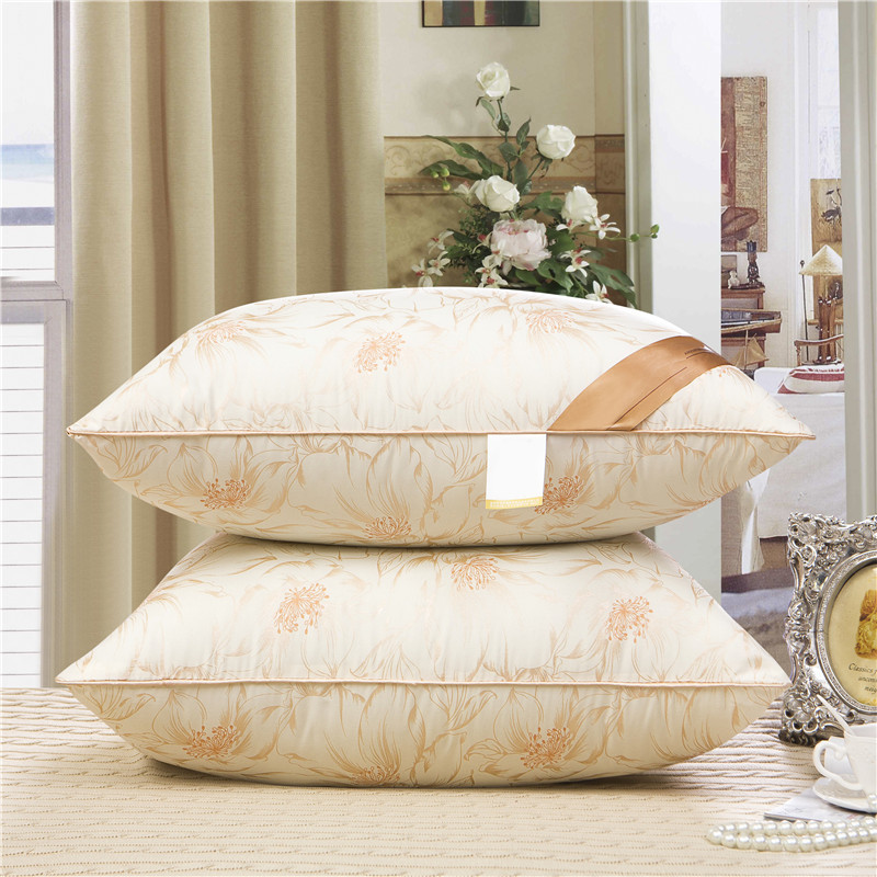 travel pillow PP cotton Winter Rectangle pillows White,Purple,Gray,Beige Bedding decorative pillows 42*70 Sleeping Pillow Soft