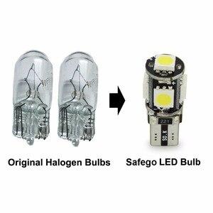 Image 2 - Safego 10 pièces de lampe de voiture Canbus 5 SMD LED 5050 194, sans erreur, T10 W5W 168, canbus OBC, LED, Source lumineuse de voiture, lumière latérale, sans erreur, LED