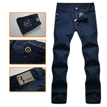 Billionaire italian couture men's jeans 2016 embroidery commercial casual breath excellent fabric straight pants free shipping