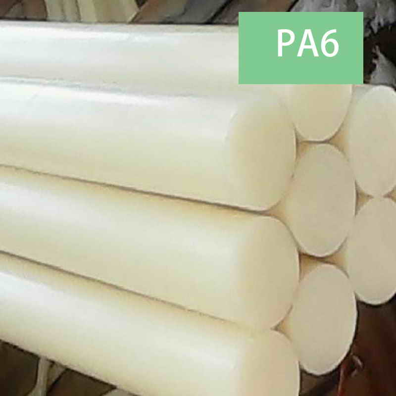 1m(will Cut To 2pcs) White Black Blue Polyamide Stick PA6 Pure Nylon Rods Wear Resistant Rod Dia.4mm~45mm