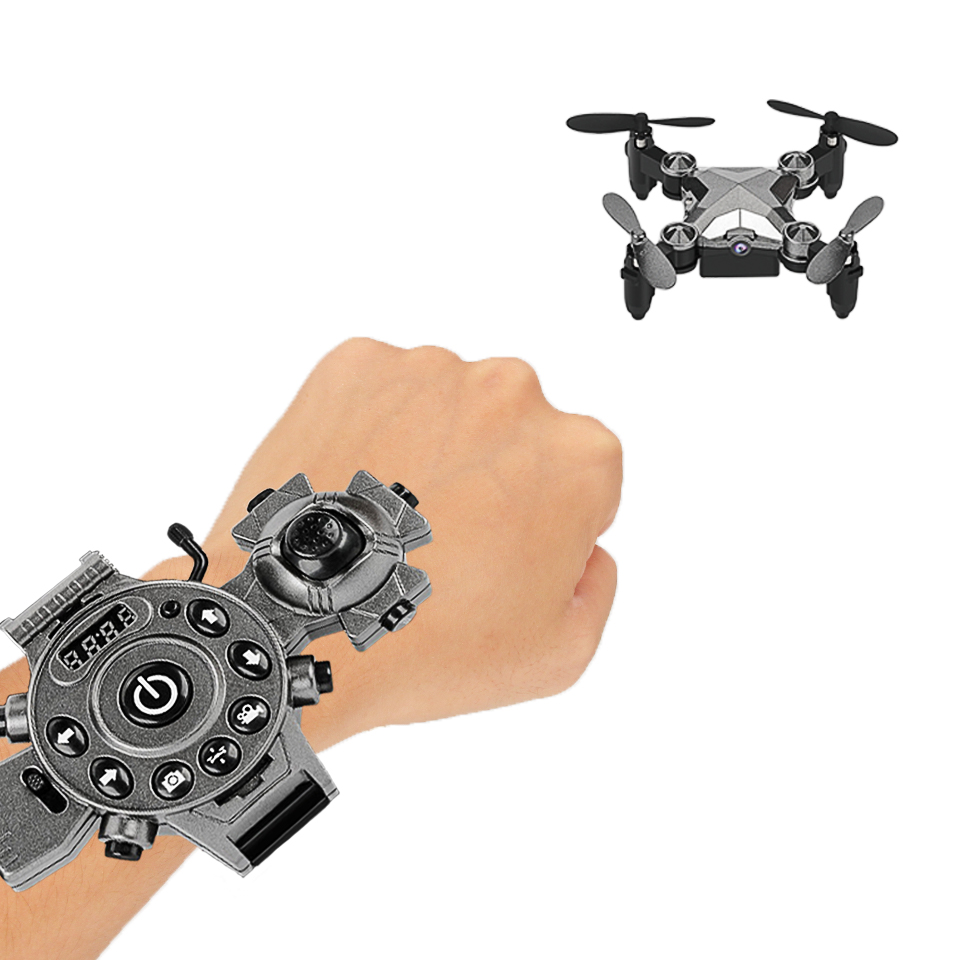 Remote Control Mini Football Drone Toy Portable Hand With 2 Million Pixels Camera