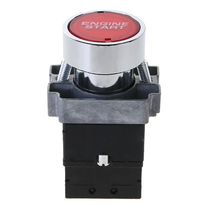 12 V 10A LED Auto Motorleistung Zündung Starter Push Button Switch ...