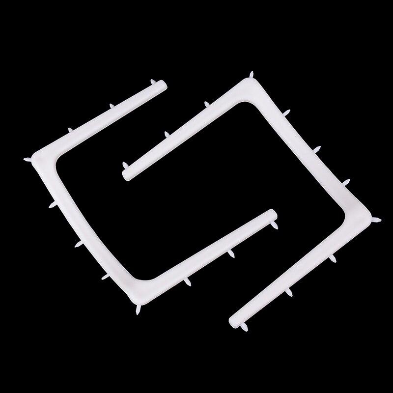 2pcs/set Dental Plastic Rubber Dam Frame Holder Instrument Autoclavable For Sterilization
