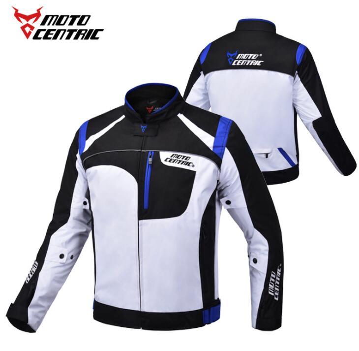 MOTOCENTRIQUE veste étanche Moto Équitation vêtement de course équipement de Protection Motocross Veste Moto Équipement de Protection