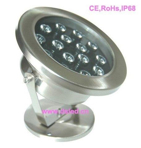 ip68 15 de alta potencia w levou piscina luz luz subaquatica conduzida 24 v dc