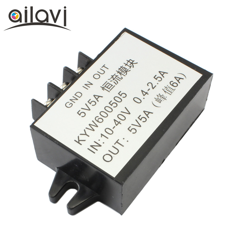 DC-DC Power Supply Step-down Buck Module 10V-40V to 5V 5A Constant Current Converter Mod ...