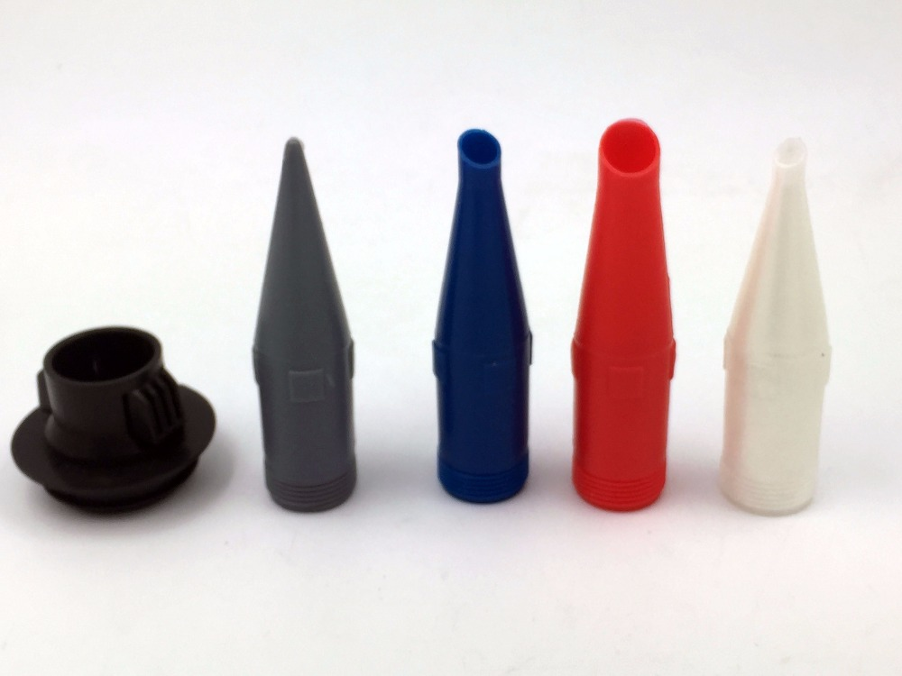 4 Colours Nozzles And Black Nozzle Holder For Caulking Gun Use(BC-P008-C)