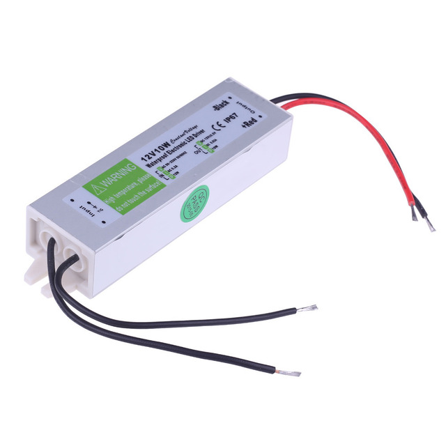 new ac dc 12v 10w waterproof electronic led driver transformer powernew ac dc 12v 10w waterproof electronic led driver transformer power supply 110v 220v to 12v for underwater light free ship