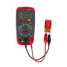 1 шт. UA6013L Автоматический диапазон цифровой ЖК-дисплей конденсатор емкость тестовый метр мультиметр Измерение тест er метр абсолютно