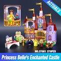 Nuevo 379 unids 10565 37001 El Castillo Encantado de la Bella y La Bestia Princesa Campana Bloques de Construcción de Ladrillos de Juguete Niñas figuras 41067