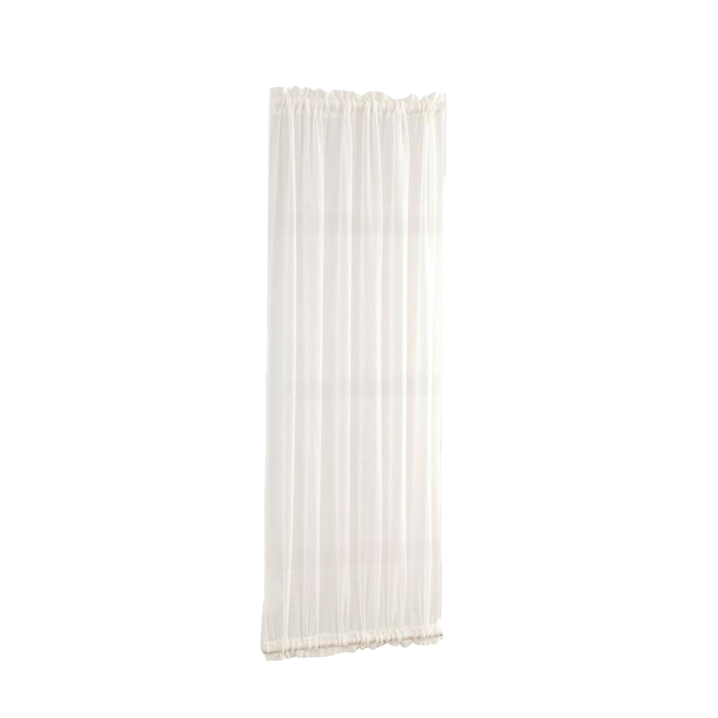 Beautiful Window Curtains French Door Curtains Sliding Door Drape Panel With 1 Tiebacks For Living Room Shop Hotel White Curtains Aliexpress
