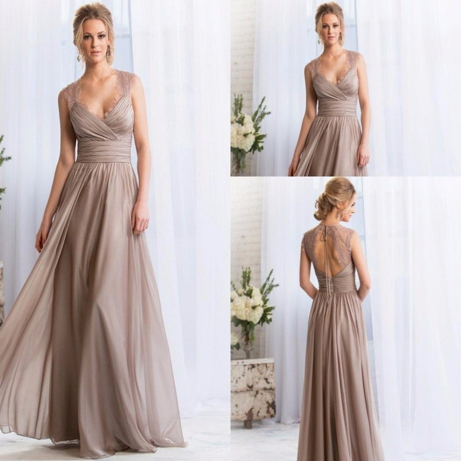 Online get cheap bridesmaids dresses in purple aliexpress bridesmaid dress v neck silver purple coral custom lace keyhole back colors long maid of ombrellifo Images