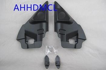 Samochodów wysokotonowy głośnik pudełka gumowe drzwi kątowe do Nissan X Trail 2014 2015 2016 2017 2018 tanie i dobre opinie Skrzynek głośnikowych Black AHHDMCL ABS+PC+Metal 0 3kg Car audio door angle gum tweeter refitting