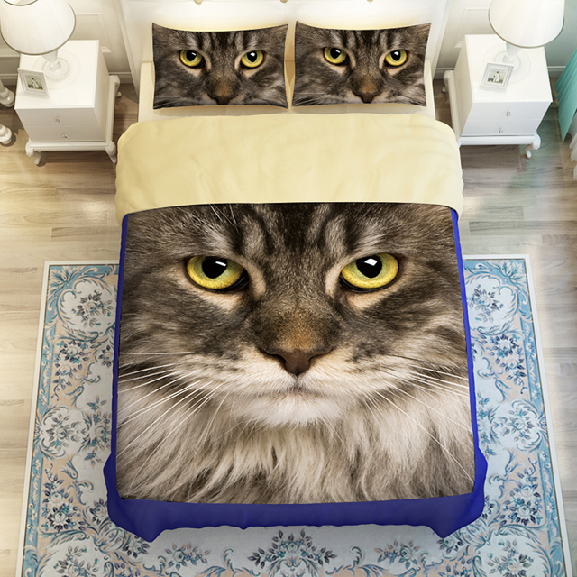 Twin Cats Bed
