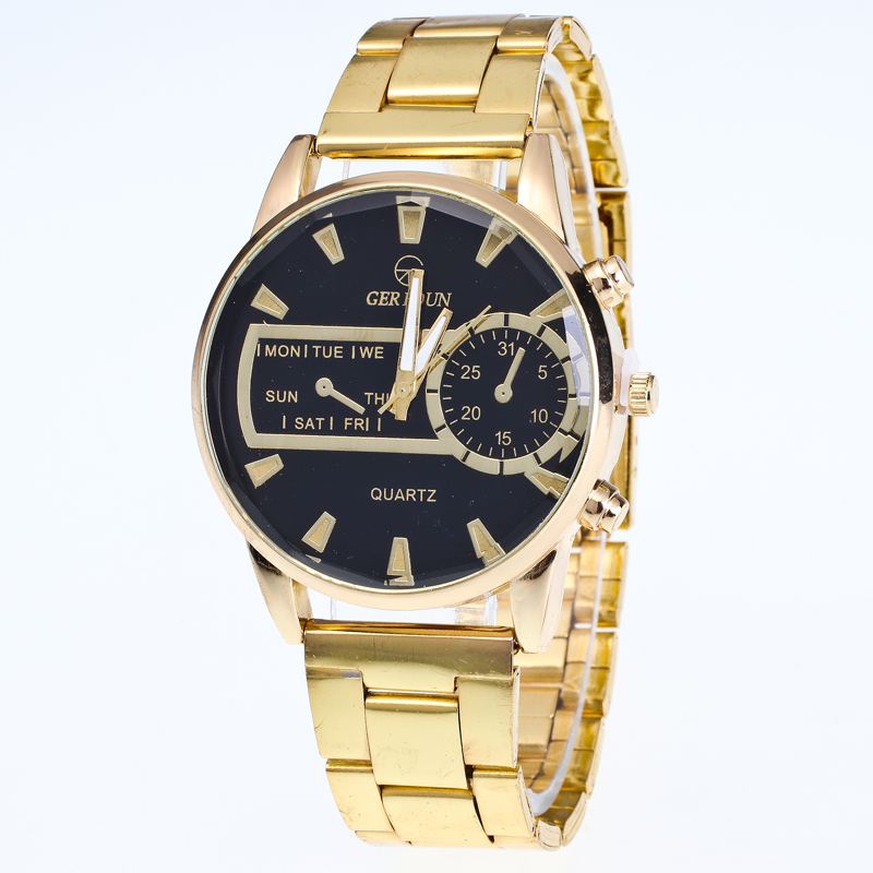 2017 ew Men Clock Fashion Business Watch Luxury Brand Full Stainless Steel Quartz Watch Man WristWatch Wholesale Gold Watch Men 2017 new full steel automatic watch binger casual fashion wristwatch with gold calendar man business hours clock relogio reloj
