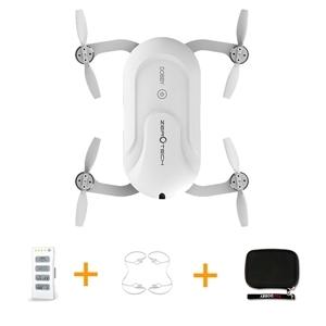 Zerotech dobby bolsillo selfie drone fpv con 4 k hd cámara gps mini rc quadcopter con el bolso mochila y protección cubierta