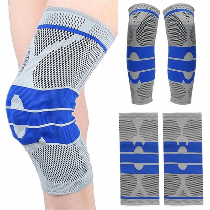High Quality Elastic Neoprene Knee Wrap Support Brace Arthritis Injury Sleeve Protector Patella Guard Running Volleyball Kneepad