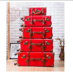 CARRYLOVE Luggage-Set Suitcase Retro Spinner Wheels Bagage Travel Trolley on 20-22-24-26-