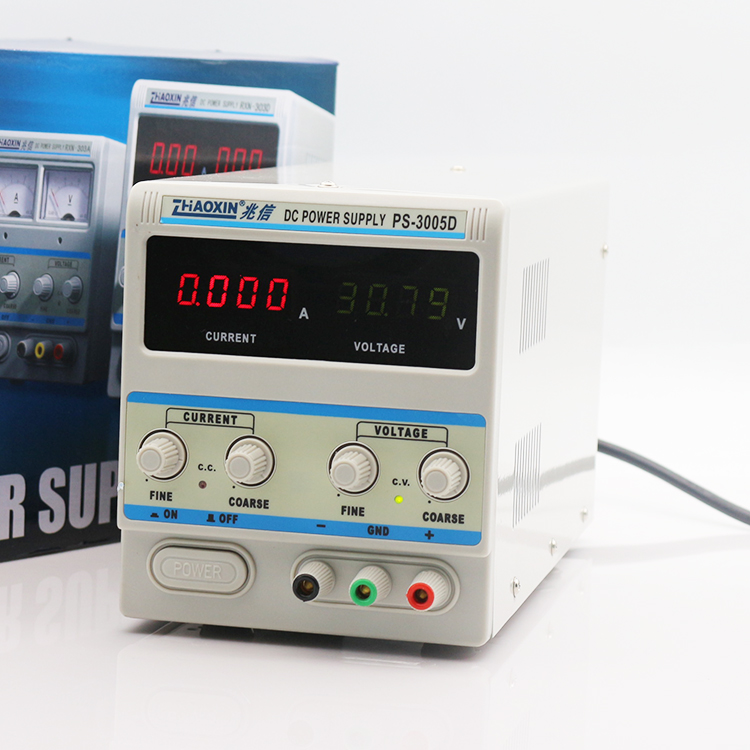 Digital display DC regulated power supply Variable 30V 5A DC Power Supply PS-3005D mini adjustable dc power supply laboratory power supply digital variable voltage regulator 30v10a four display ps3010dm