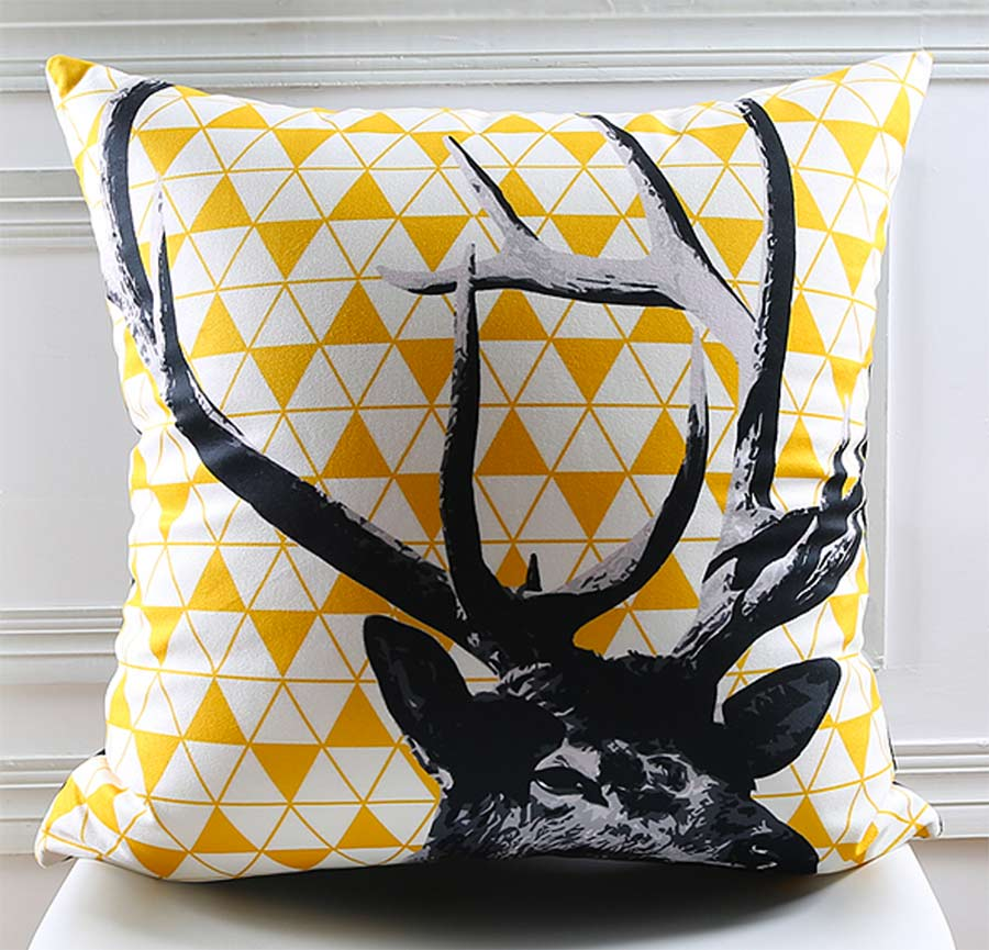 Free Shipping!Animal zebra wolf bear square throw pillow/almofadas case 45 53 30x50 teen child,modern cushion cover home decore