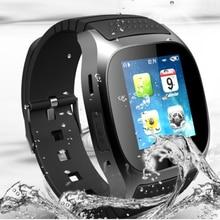 M26 Bluetooth Smart Watch armbanduhr smartwatch mit Zifferblatt SMS Erinnern Musik-player Schrittzähler für Android Samsung Smartphones