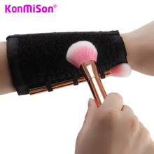 Konmison Arm Makeup Cleaner Professional Dry Wash Brush Colo
