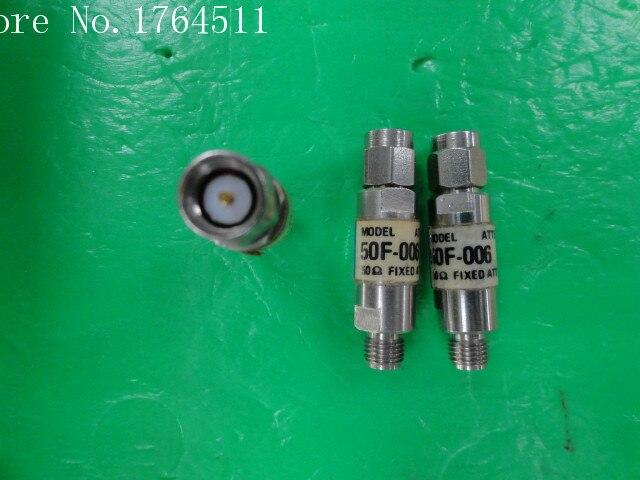 [BELLA] JFW 50F-006 RF Coaxial Fixed Attenuator DC-2GHz 6dB 2W SMA  --10PCS/LOT